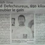 Article du journal Monaco Matin